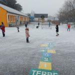 Notre école sous la neige!
